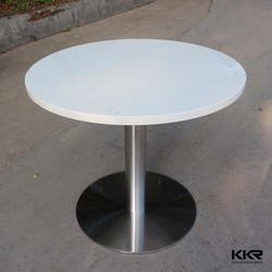 Customized restaurant fast food stone table tops
