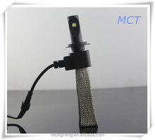 Promotion car parts accessories led car light 40w 5000lm with no fan led headlamp h4 h7 led headlight for car