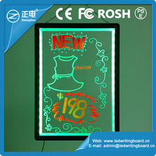 new electronic products acrylic sign board on china market