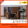 offie L shaped office manager desk/L design executive desk