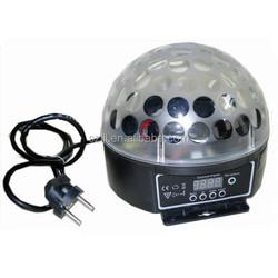 3W/6W Full Color LED Crystal Magic Ball Light Auto