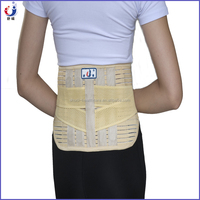 Best selling spandex breathable ventilated tourmaline magnetic lumbar support as seen on TV