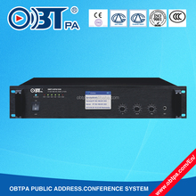 OBT-NP6150 150W IP audio system network amplifier for hotel,school,office