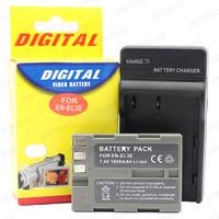 hot battery pack for digital camera EN-EL3ebattery and charge