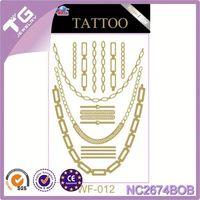 Newest Metallic Tattoo Sticker,Nissan Body Sticker,New Shiny 3D Metallic Sticker