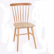 Simple design outdoor or indoor dining room wooden chair Windsor Chair