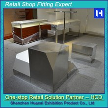 Factory price metal folding display stand/shelf/rack for shoes/plant/other