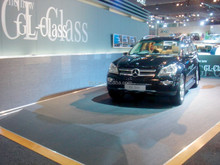 Supply reliable quality car show woven vinyl flooring