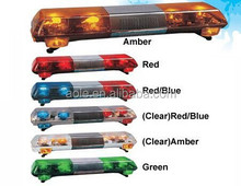 Halogen lamp,halogen police lightbar, rotating lamp strobe light bar