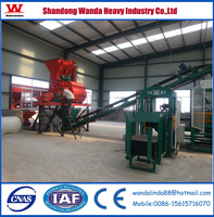 New technology! Cement brick block making machine with low price for sale