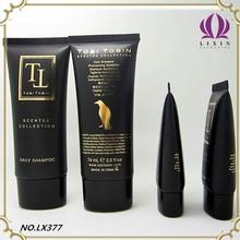 1+1 set plastic lotion tube containers cosmetic plastic tube shampoo tube