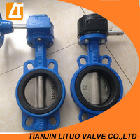 Competitive price manufacture 1 inch butterfly valve hot sale