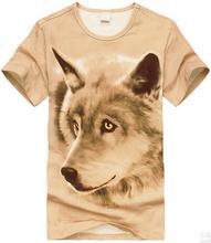 women animal printed 100% cotton algodon t-shirts factory