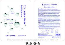 QBEKA Máscara de antiarrugas con colágeno blanqueador