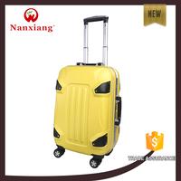 New 2015 Luxury Lightweight luggage set 4 airplane wheels hard luggage