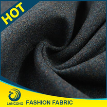 2015 Top quality Garment use Beautiful poly wool fabric