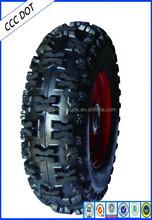 E-certificate 9inch-20 inch ATV tubless tire /wheel