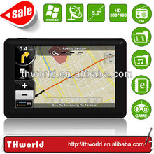 Wholesale Checkout 5 inch Thailand map sat nav system model no. K50 with MSB 2531 CPU 800MHz 4GB Memory