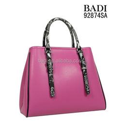 Western classical style women handbag fashion 2015, fashion latest ladies handbags