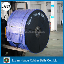 stone crusher/cement plant/iron ore/coal mine ep rubber conveyor belt EP100-300
