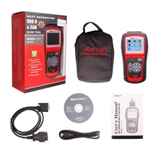 New Arrivel Autel AutoLink AL519 OBD-II and CAN Scanner Support All OBD2 Cars Update Online Autolink AL519