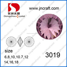 12mm polished crystal element for fashion jewelry accessories