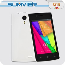 4 inch MTK6572 dual core RAM 512MB ROM 4GB slim and small mobile phones