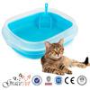 Beatutiful Color Portable Cat Toilet Cat Litter Pan Cat Litter Box
