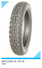 motorcycle tire 110/90-16, 3.50-18