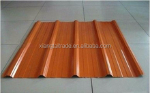 corrugated steel sheet/ corrugated sheet with different colors