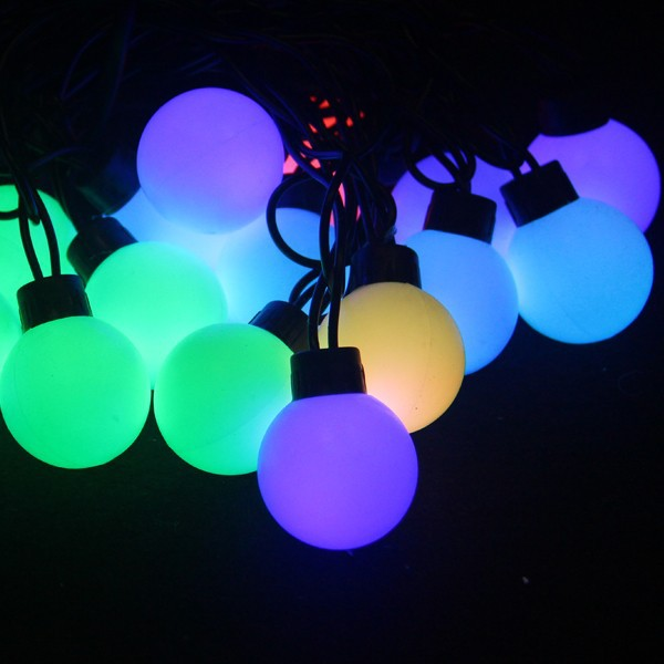Large Led String Lights : Big Ball Led Christmas String Light For Outdoor Decoration Waterproof - Buy Led Christmas String ...