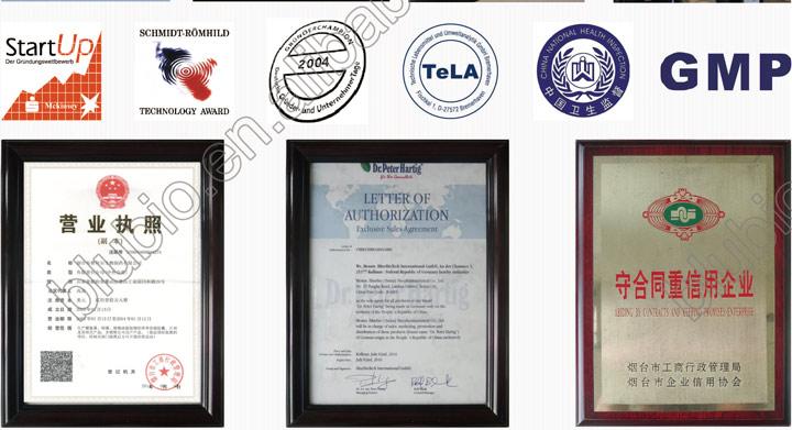 OEM manufacturer BluBio Spirulina tablet slimming product
