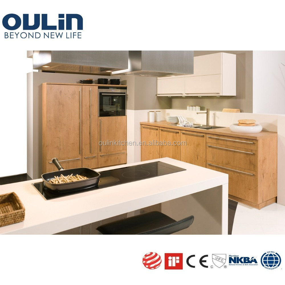 2015 Solid Wood Veneer MDF Kitchen Cabinets View Kitchen Cabinets