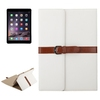 Horizontal Flip Pattern Business Style 3 Folding PU Flip Case for iPad Air 2 with Stand