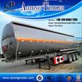 Principales productos para el 2015 45000 litros de aluminio gasolina cisterna semirremolque, Petrolero, De aluminio de camiones de depósitos de combustible para la venta
