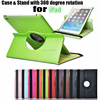 2015 hot sale customize design 360 degree rotating case for ipad 5 from shenzhen factory
