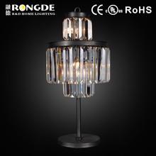 ZHONGSHAN RONGDE crystal arts and craft table lamps