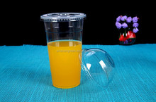PP Disposable Plastic cups for hot coffer/juice drink container