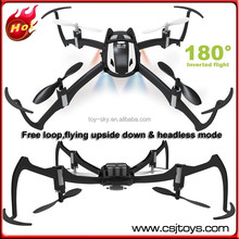 2015 Toysky S188 6CH 2.4Ghz 4 Axis Radio controlled 3D Inverted flight Mini Nano New drones with free loop flying upside down