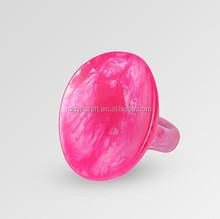 Custom Rings resin lucite