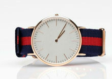 2014 new design men dress watches NATO strap watch simple fashion men wrist watch small order available