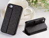PU Leather Flip Wallet Case For iPhone 4 4S 5 5S 6 6Plus