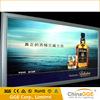 Advertising led 12v/24v flex bnner textile light box with oxidated alloy aluminum
