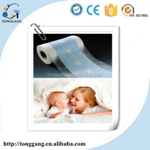Atmungsaktiv laminierfolie für baby-windel unterschicht