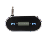 NEW HiFi Portable Audios FM Transmitter MP3 Player With 3.5mm Jack For iPhone 6 6 Plus 5S 5C 5 4S 4 For Samsun