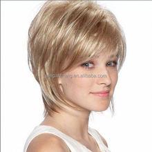 Elegant-wig 100% real human hair wig blonde human hair full lace wig on sale