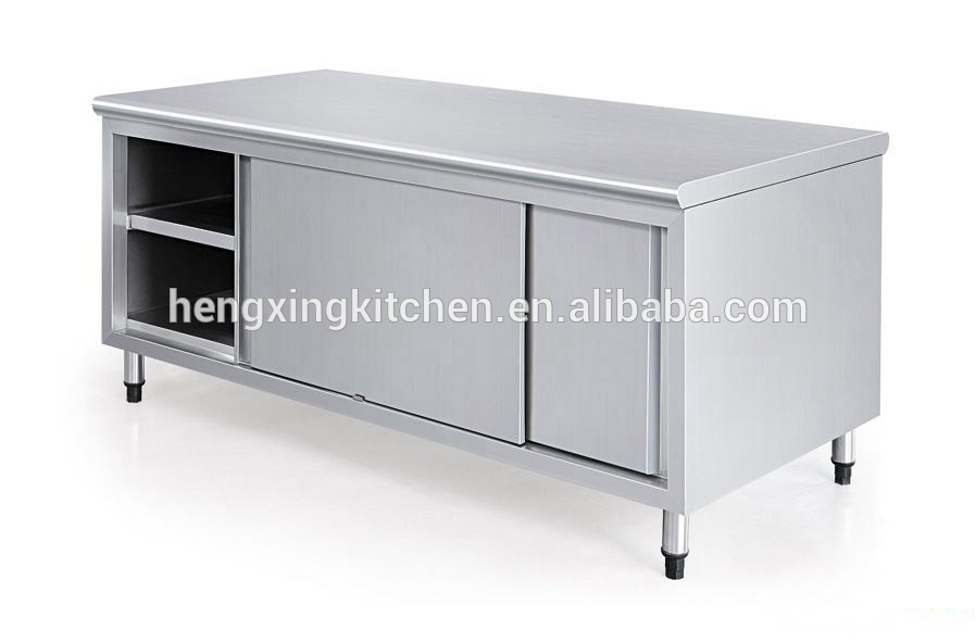 Kitchen Working Table With Sinkwork Table With Cabinetkitchen - Stainless steel work table with sink