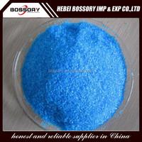 color of copper sulfate