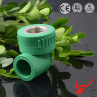 Factory price machine copper pipe fittings ppr elbow with disk