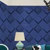 flower shape design 3d effect wallpaper decorative for hotel